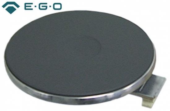 Plita electrica rotunda cu inel exterior inox, 145mm