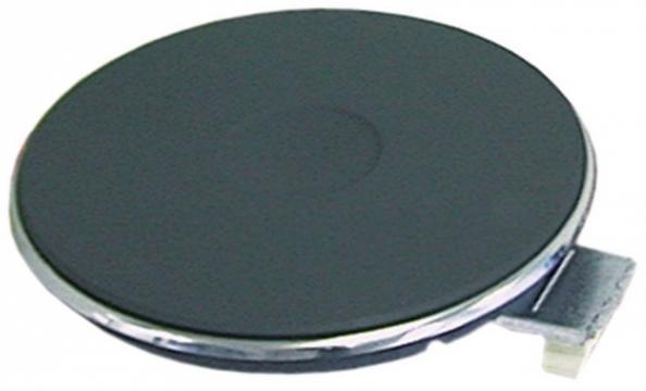 Plita electrica rotunda cu inel exterior inox, 145mm, 1500W de la Kalva Solutions Srl
