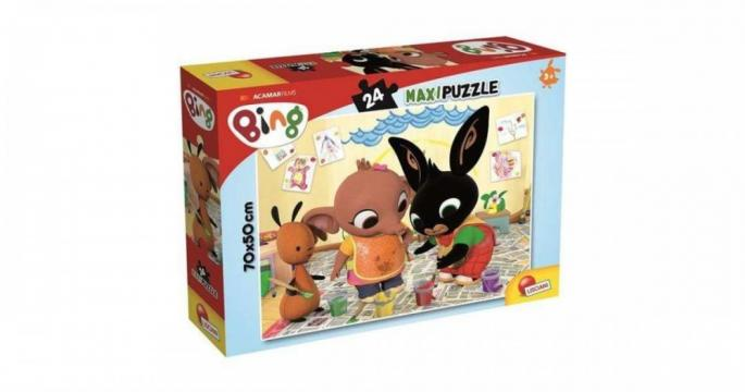 Puzzle colorat Bing Maxi 24 bucati de la Pepita.ro