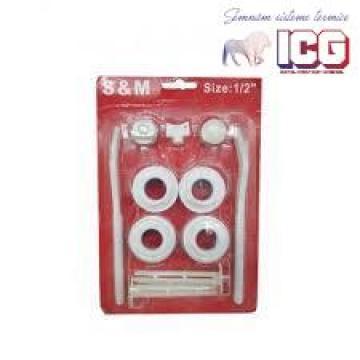 Set accesorii 11 piese radiator aluminiu