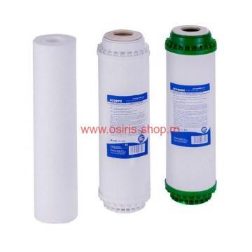 Set de 3 filtre pentru aparat de filtrat apa cu UF de la Osiris Design Construct
