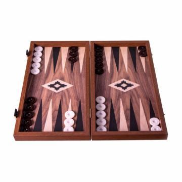 Set joc table/backgammon Walnut with Black &Oak points/Repli de la Chess Events Srl