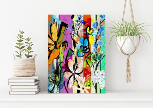 Tablou cu flori de la Tapetix Studio Srl