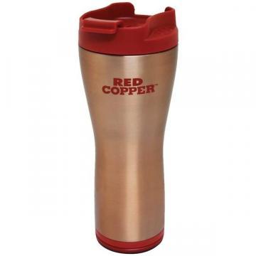 Termos cafea cu Smart Grip si interior inox Red Copper Mug