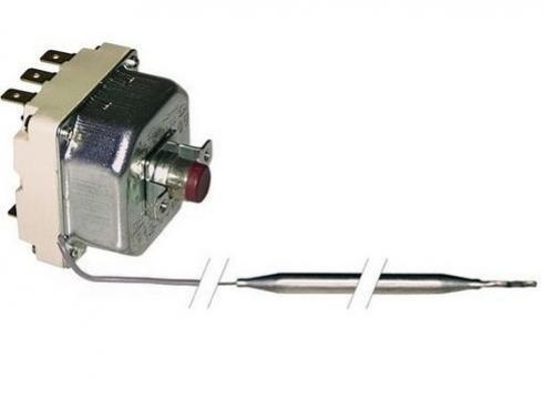 Termostat de siguranta 232*C, 3poli, 20A, bulb 6.5mmx219mm