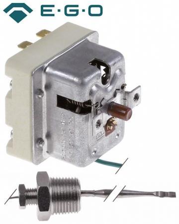 Termostat de siguranta 340*C, 2 poli, 1NC/1CO, 1x20/1x0