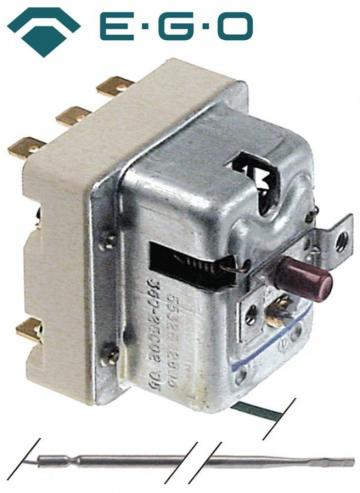 Termostat de siguranta 360*C, 3 poli, 20A, 4mmx120mm