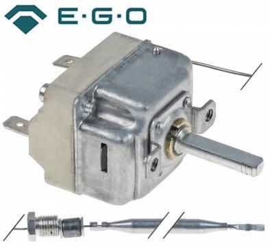 Termostat reglabil 48-190C, 1NO, 16A, M9x1