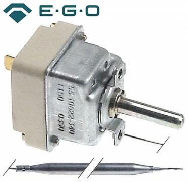 Termostat reglabil 50-140C, 1NO, 0.5A