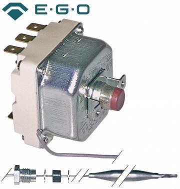 Termostat de siguranta 230*C, 3poli, 3NC, 20A, bulb 6mmx239m