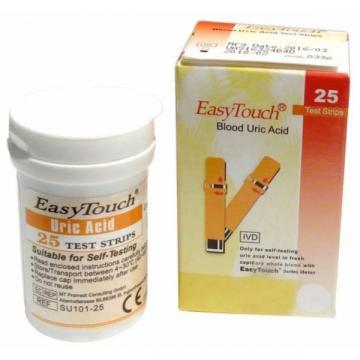 Teste de acid uric pentru aparate EasyTouch 25 teste de la Startreduceri Exclusive Online Srl - Magazin Online - Cadour