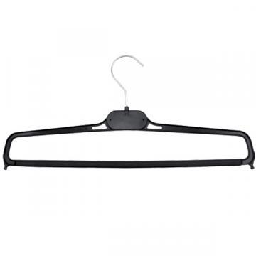 Umeras plastic cu carlig pentru haine subtiri, 38cm (1 buc)