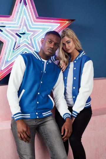 Jacheta Varsity Jacket de la Top Labels