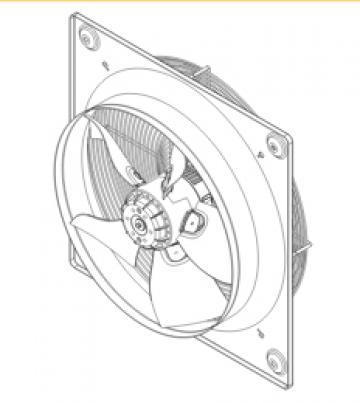 Ventilator axial HXTR/6-710 de la Ventdepot Srl