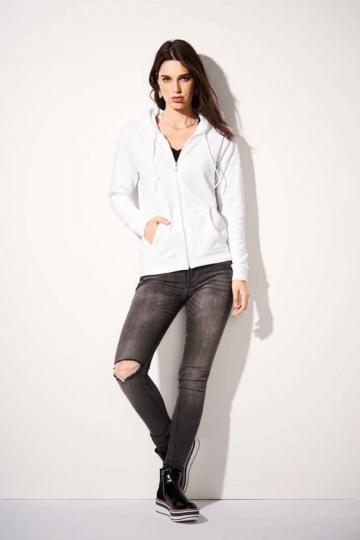 Bluza dama Women's Full-Zip Hooded Sweatshirt