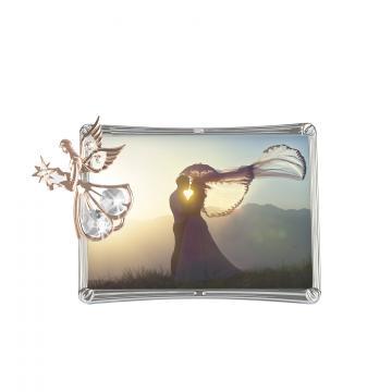 Rama foto aur Roz si Swarovski Elements Angel Touch