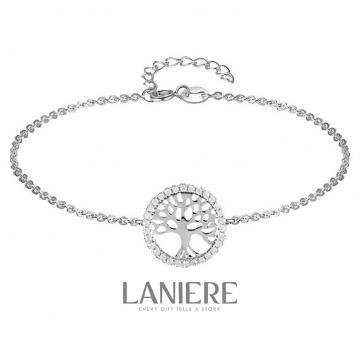 Bratara din argint 925 cu cristale Tree Of Life - Laniere de la Luxury Concepts Srl