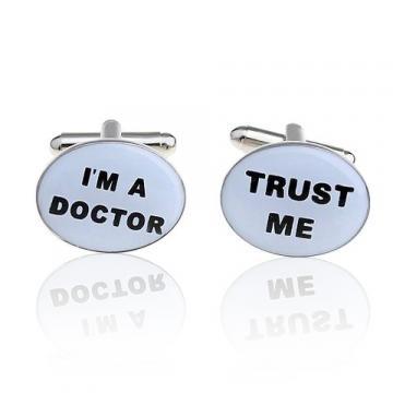 Butoni de camasa Trust me, I'm a doctor
