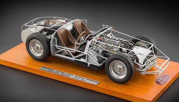 Macheta CMC Maserati 300S, Rolling Chassis, 1956 de la Luxury Concepts Srl
