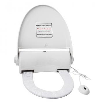 Capac toaleta cu senzor si buton, Navisani