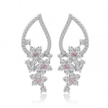 Cercei cu cristale Diamond Grapes