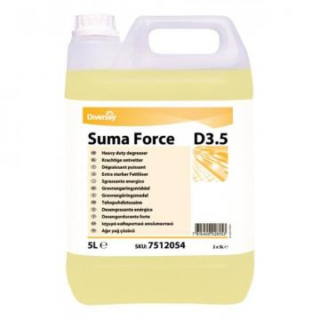 Detergent degresant lichid Suma Force D3.5, Diversey, 5L