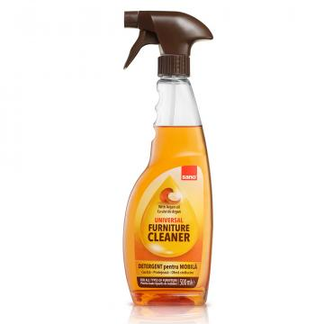 Detergent mobila Sano Furniture Aragan Oil TRG, 500ml