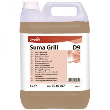 Detergent puternic bucatarie Suma Grill D9, Diversey, 5L