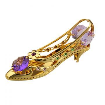 Figurina Pantofior cu cristale Swarovski