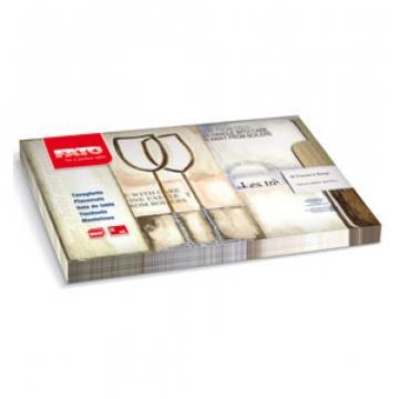 Servet masa Placemat 30x40 cm, Rustico Deluxe - Bistrot Fato de la Sanito Distribution Srl