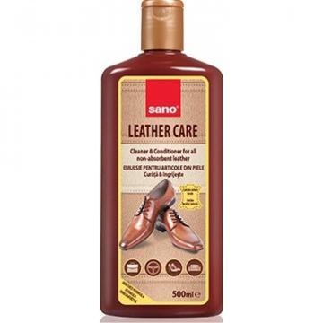 Solutie curatare piele Sano Leather Care 500 ml