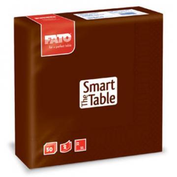 Servetele 33x33 cm, 2 straturi, Smart Table Cacao, Fato