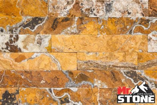 Piatra naturala Gneis Ruginiu de Cipru regulat 20cm x LL de la Antique Stone Srl
