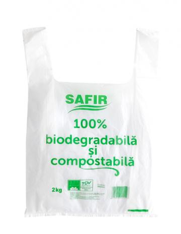 Pungi biodegradabile si compostabile 4 kg (24x42cm) de la Cristian Food Industry Srl.
