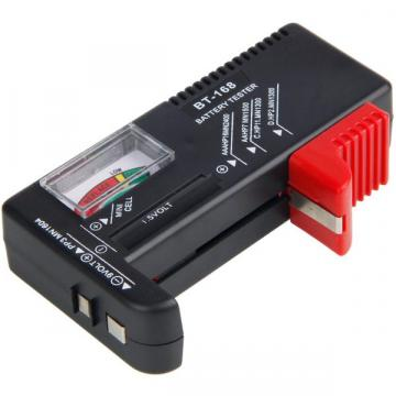 Tester analogic universal pentru baterii intre 1.5 si 9V