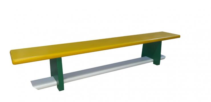 Banca gimnastica, 160*25*30 cm, B10C3, colorata