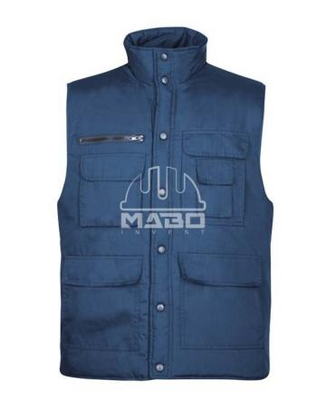 Vesta vatuita Tony albastru de la Mabo Invest