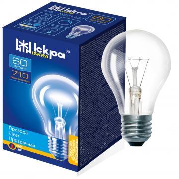 Bec incandescent A50, 60W, 230V, 710LM, E27 - Iskra de la BCV International Group