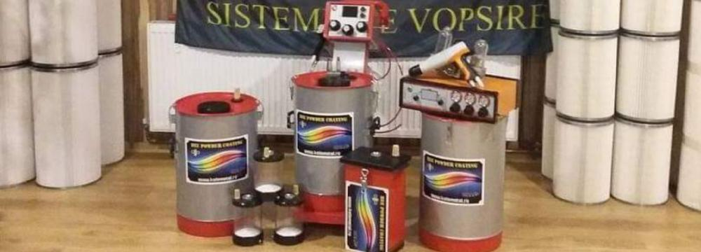 Linie de vopsire in camp electrostatic 190305072021