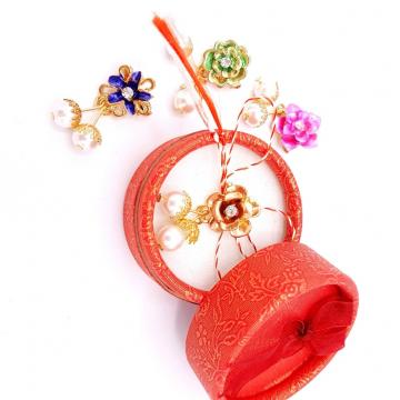 Martisor brosa Joy Flower in cutiuta (ABGS18-ACGS01)