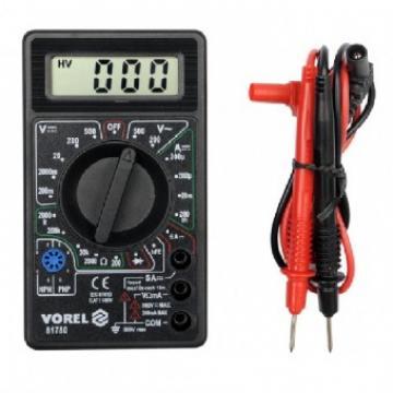 Aparat de masura universal- multimetru, Vorel 81780 de la Viva Metal Decor Srl