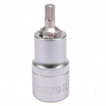 """Bit spline Yato YT-04341, M6, cu adaptor 1 2"""", 55mm, Cr-V de la Viva Metal Decor Srl"""