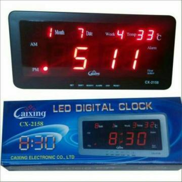 Ceas cu termometru digital si LED-uri CX-2158 de la Www.oferteshop.ro - Cadouri Online