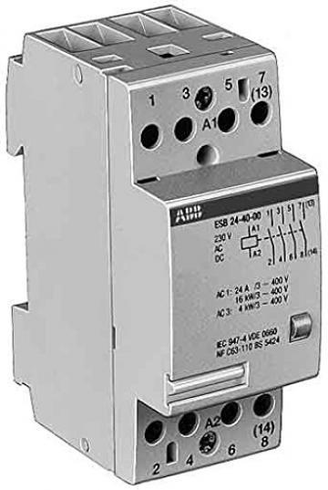 Contactor tetrapolar modular ABB ESB