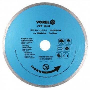 Disc diamantat 230 mm, Vorel 08735 de la Viva Metal Decor Srl