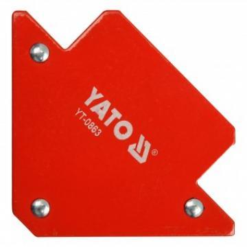 Dispozitiv magnetic fixare pentru sudura, Yato YT-0863 de la Viva Metal Decor Srl
