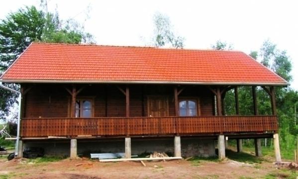 Casa de vacanta din lemn Fantana Brazilor izolat de la Korondi Arcso Srl