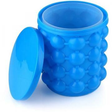 Frapiera gheata din silicon si forma pentru cuburi de gheata de la Www.oferteshop.ro - Cadouri Online