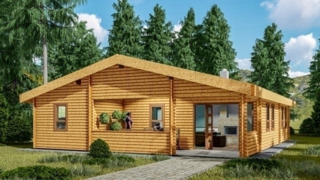 Casa din lemn Godollo de la Korondi Arcso Srl