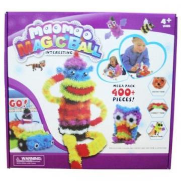 Joc interactiv 3D Maomao MagicBall cu 400 piese multicolore de la Www.oferteshop.ro - Cadouri Online